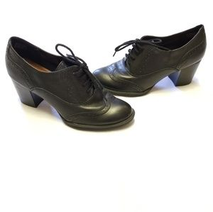"""Bare Traps """"Gretchen"""" Heeled Lace Up Booties"""